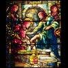 Jesus washing the disciples' feet by Tiffany Studios